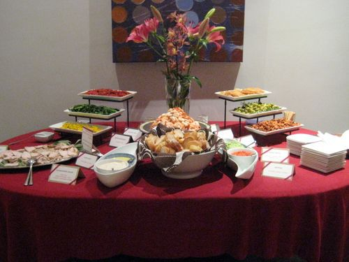 The house is toasty warm now grits chopsticks for Easy housewarming party food