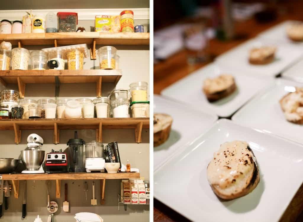 kitchen shelves at r kitchen russ webb charleston drunken potato goat cheese