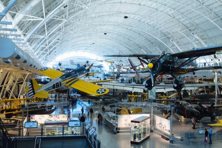 3 kid-friendly weekend trips from washington dc - udvar hazy air and space museum