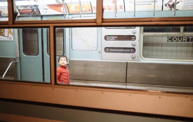 3 kid-friendly weekend trips from washington dc - new york transit museum preschooler