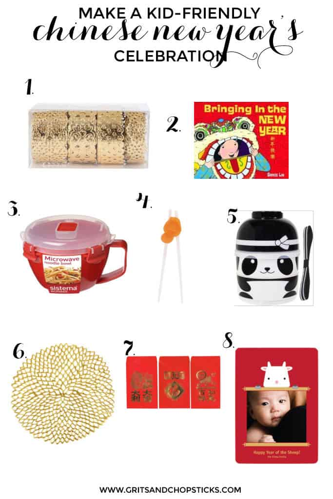kid-friendly chinese new year's celebrations are easy with these items