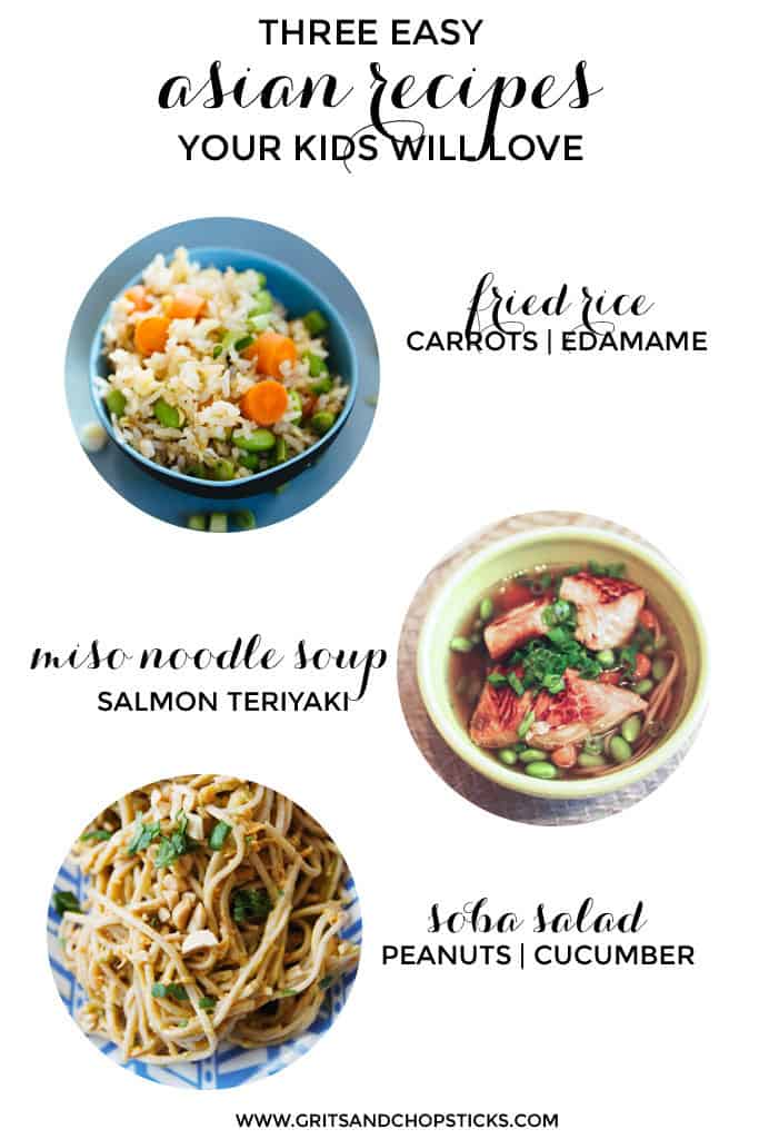 three easy asian recipes for kids