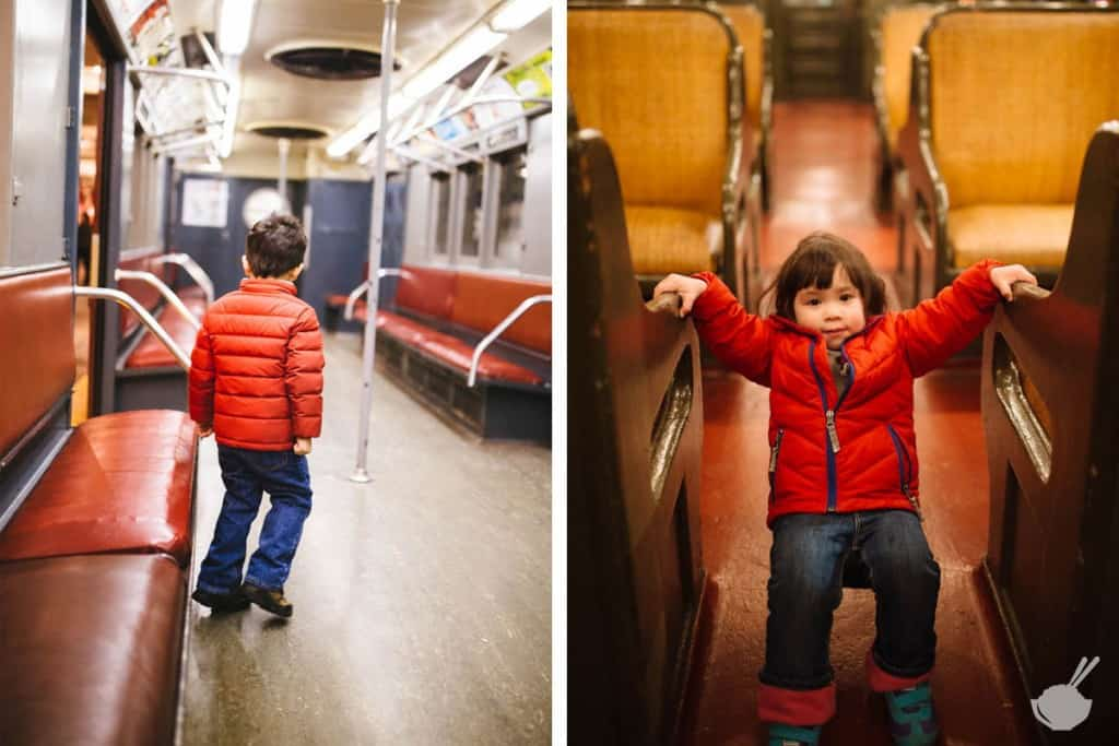 3 kid-friendly weekend trips from washington dc - new york transit museum toddlers