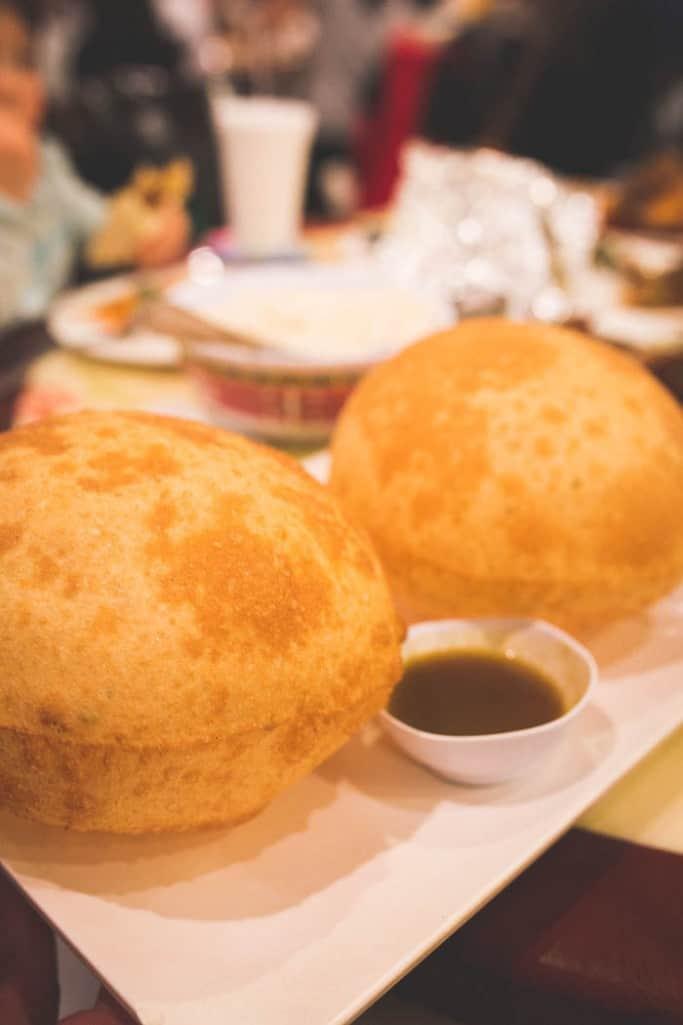 peter chang scallion bubble pancake