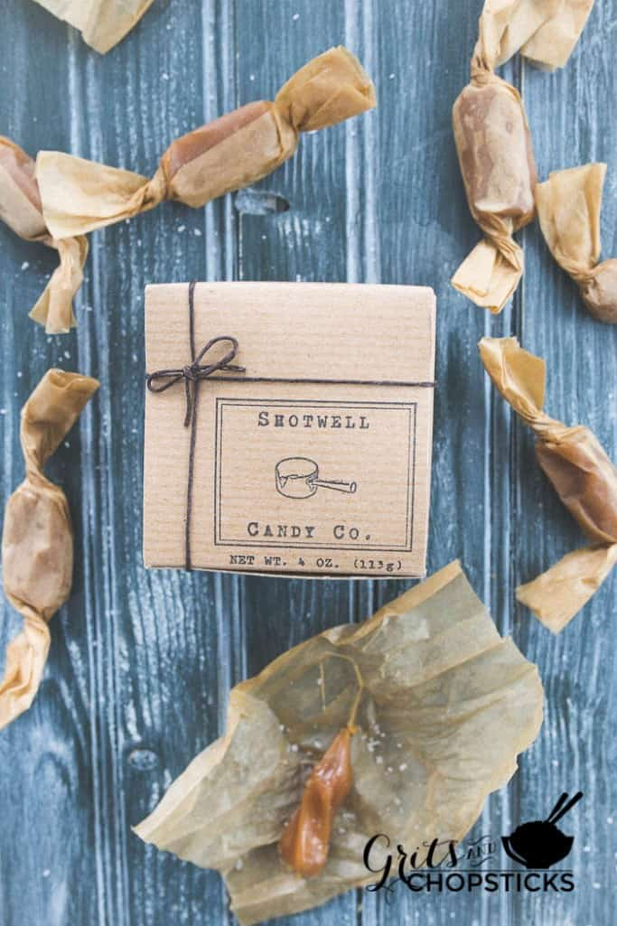 shotwell salted caramels are gooey goodness and one of the winners of the 2015 southern living food awards | www.gritsandchopsticks.com