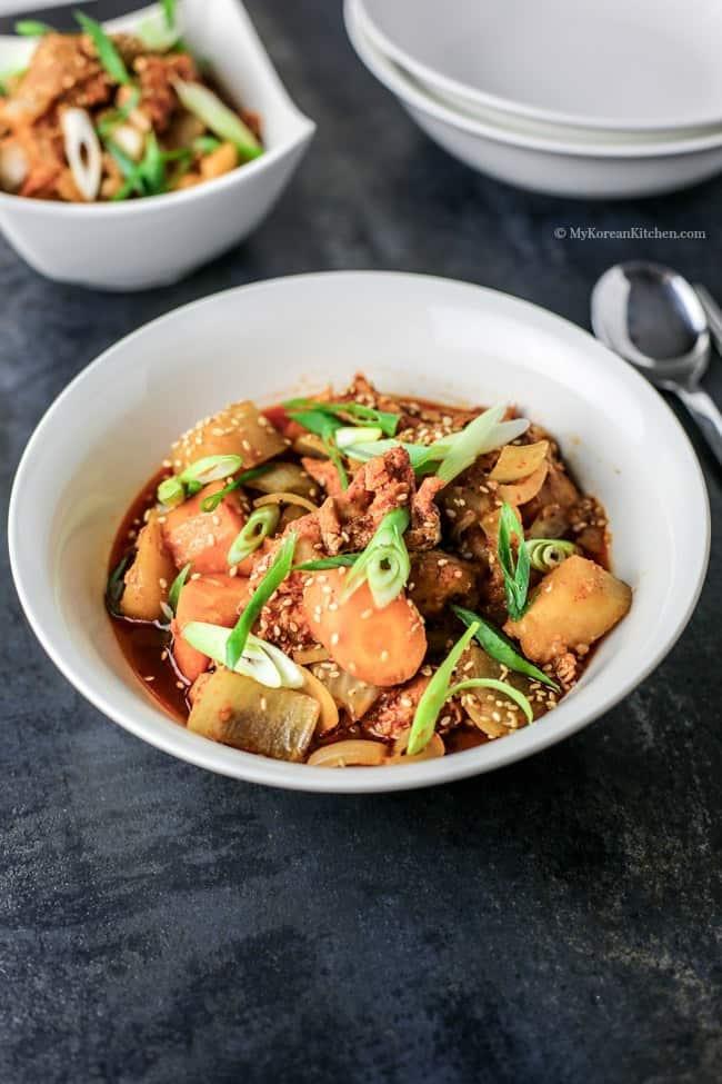 2.-Slow-cooker-spicy-Korean-chicken-stew