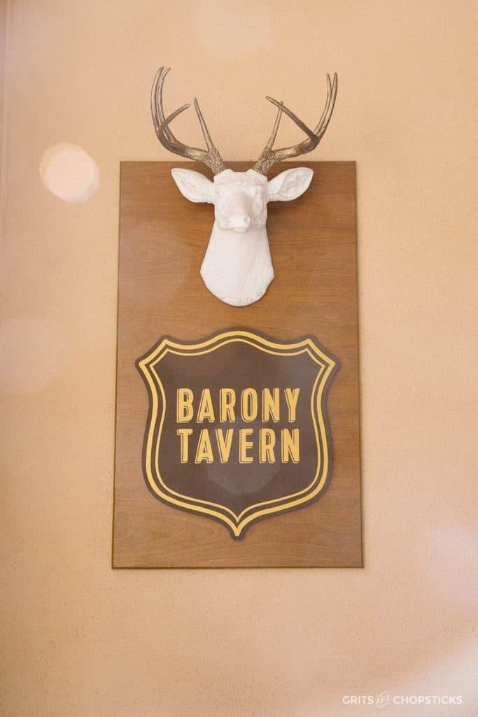 barony tavern in charleston