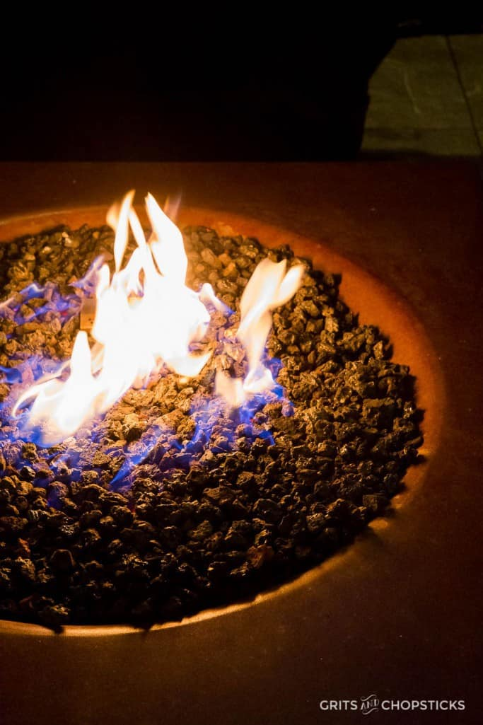Earl's Kitchen + Bar in Tysons Corner has great outdoor dining space and fire pits