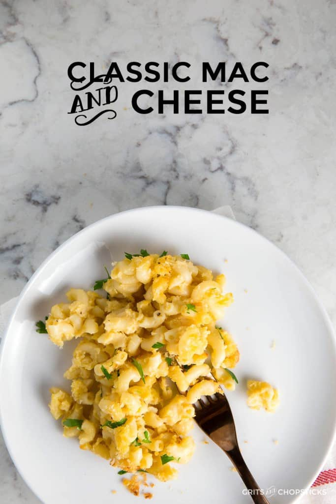 This recipe for classic mac and cheese is the only one you'll ever need for a richly satisfying Southern side dish