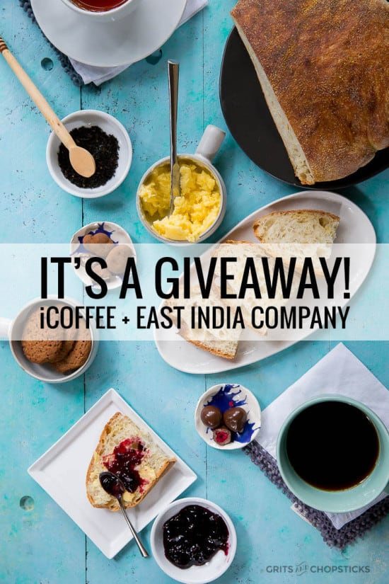 icoffee and east india company giveaway