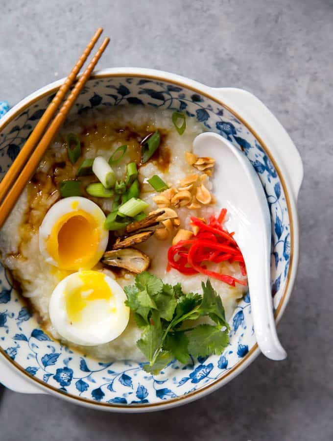 congee (chinese rice porridge)