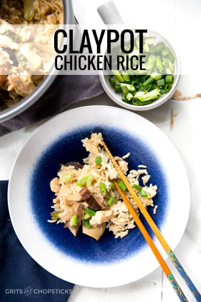 rice cooker claypot chicken rice