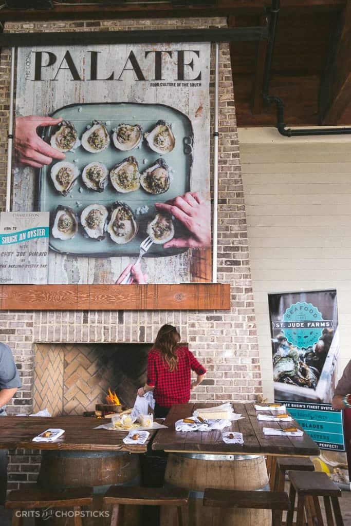 charleston wine and food festival oyster roast
