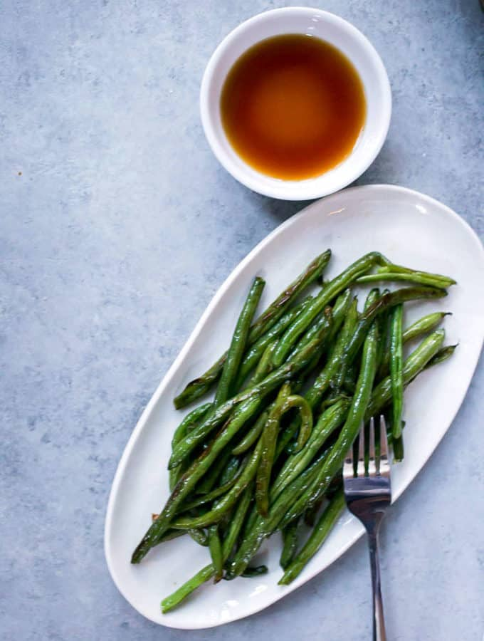 the best roasted green beans