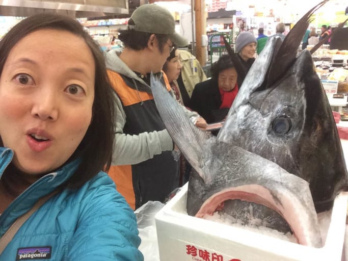 bluefin tuna at h-mart!