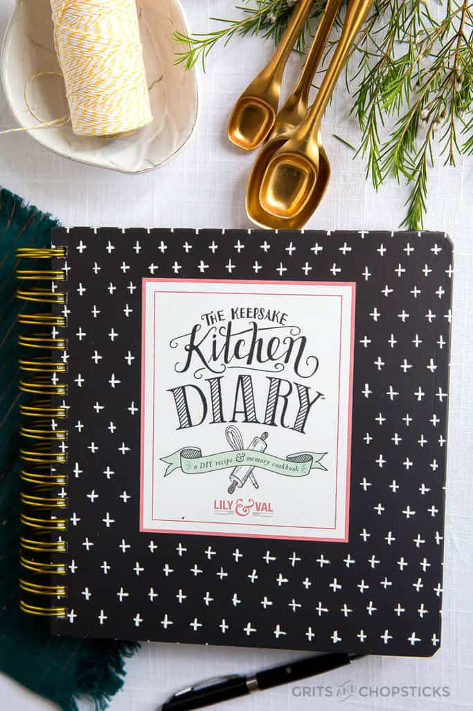 giveaway: lily & val keepsake kitchen diary