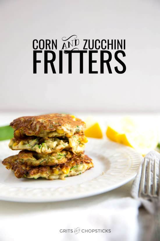 These corn and zucchini fritters are paleo/gluten free and vegan