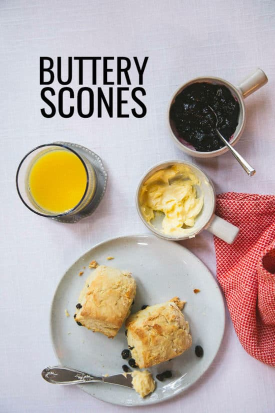 Buttery scones made with Finlandia butter