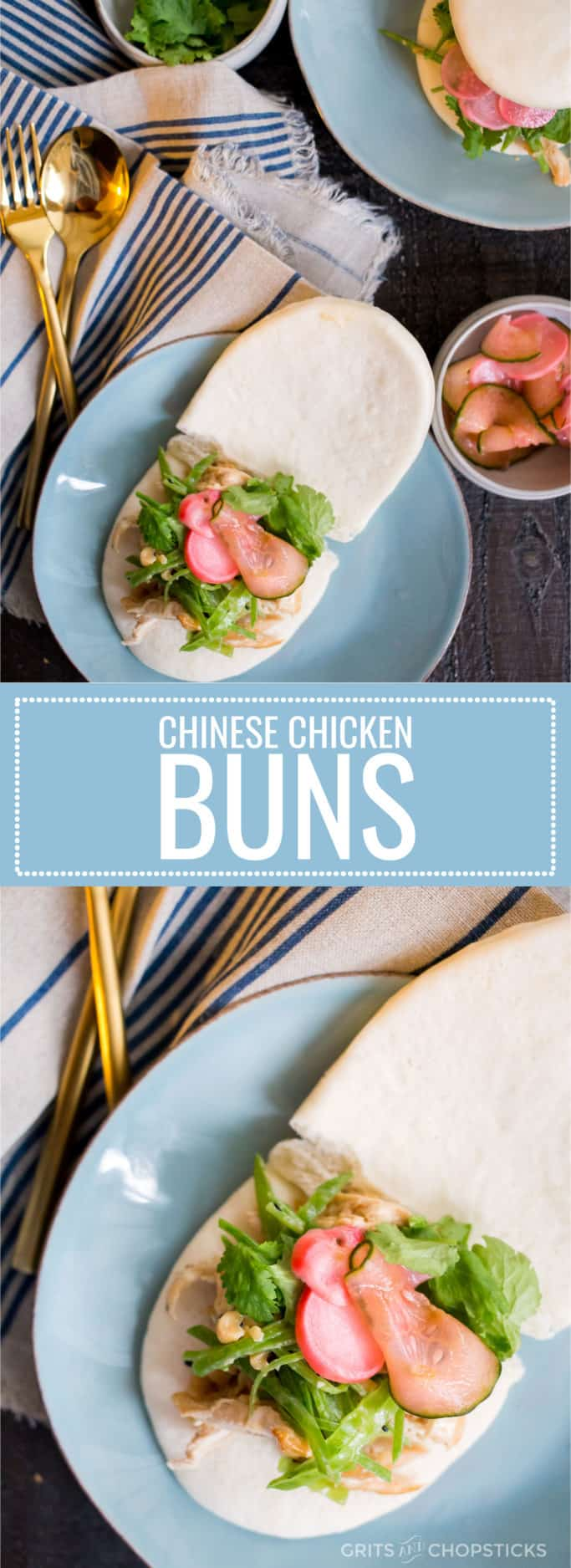 Make chinese chicken buns for a unique weeknight dinner!