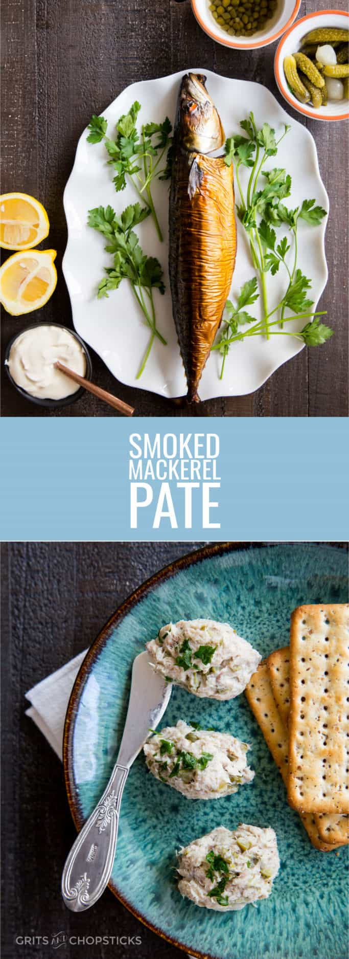 This smoked mackerel pate is weirdly addictive and an interesting, new flavor to try -- plus, it's easy to make!