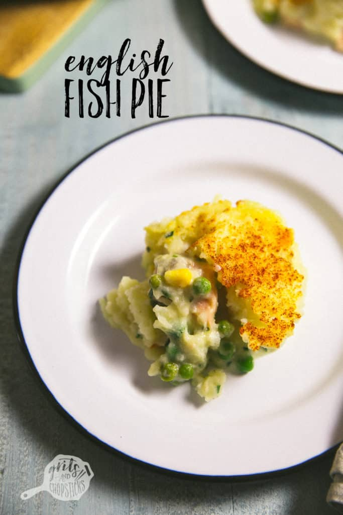 English fish pie grits chopsticks for Fish and grits near me