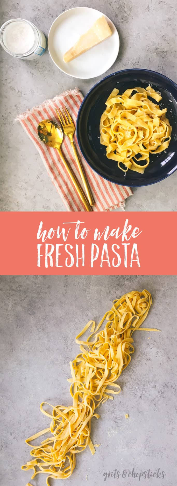 make pasta by hand
