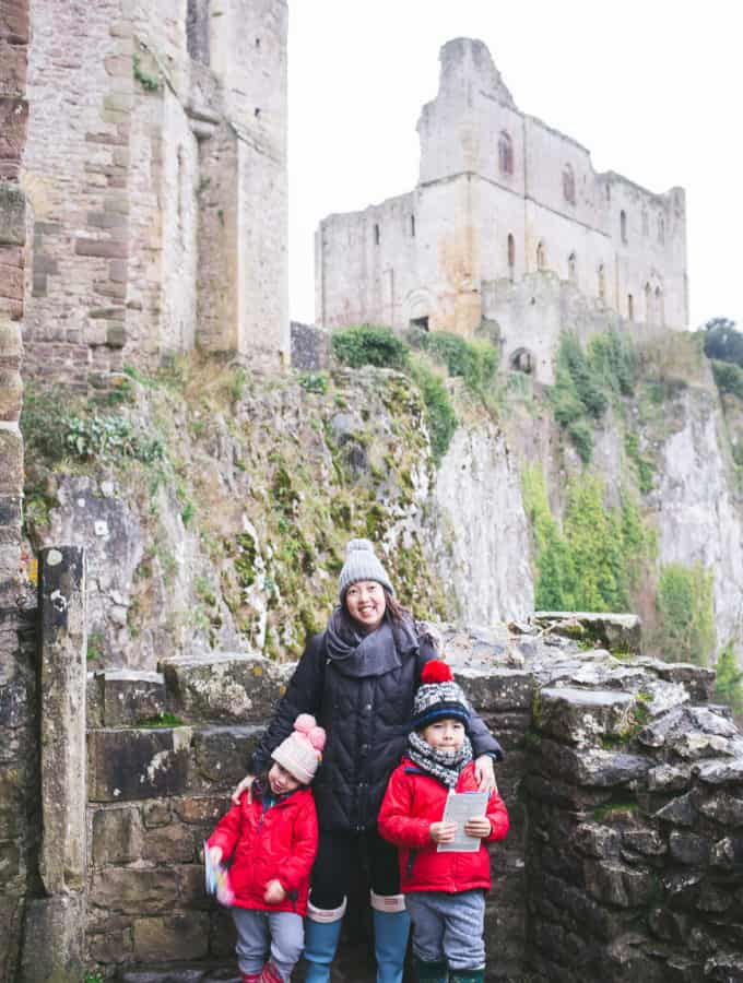 wales: chepstow castle