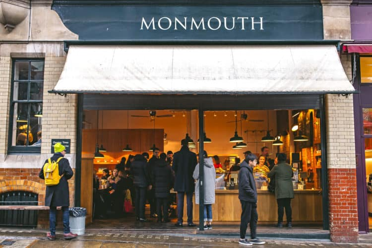 borough market's top five eats - monmouth coffee