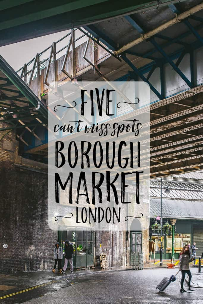 borough market's top five eats