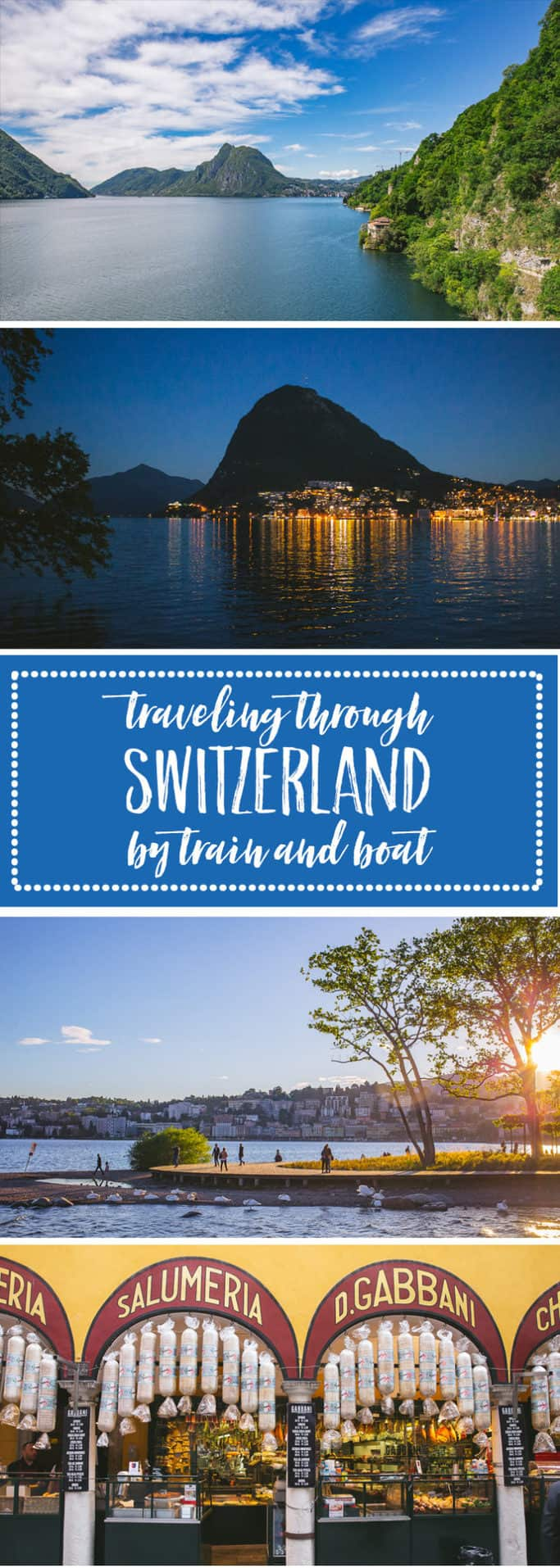 travel by train through switzerland