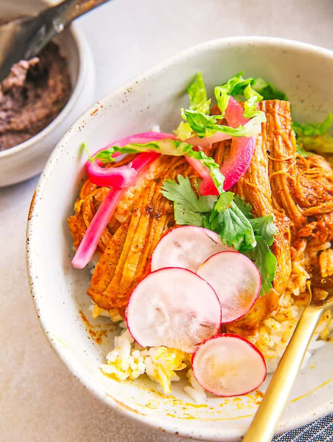 Make this instant pot pork pibil for a glorious weeknight dinner!