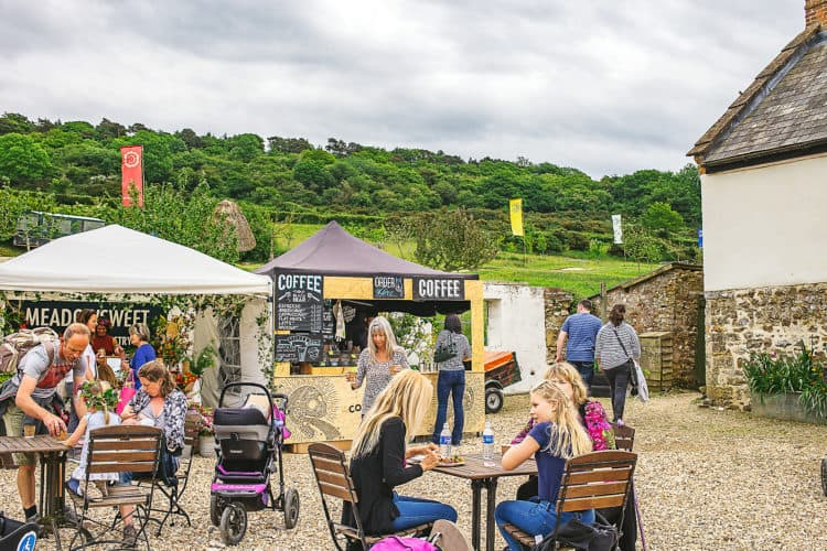 River Cottage in Devon, England is a family-friendly destination just a few hours from London