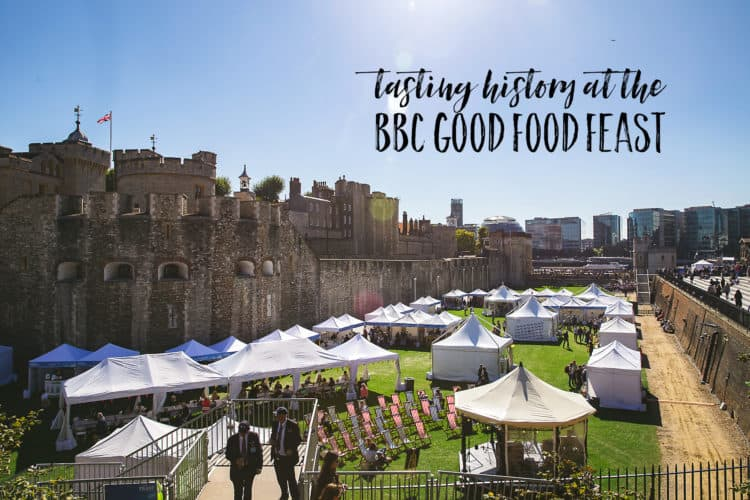 tasting history at the bbc good food feast