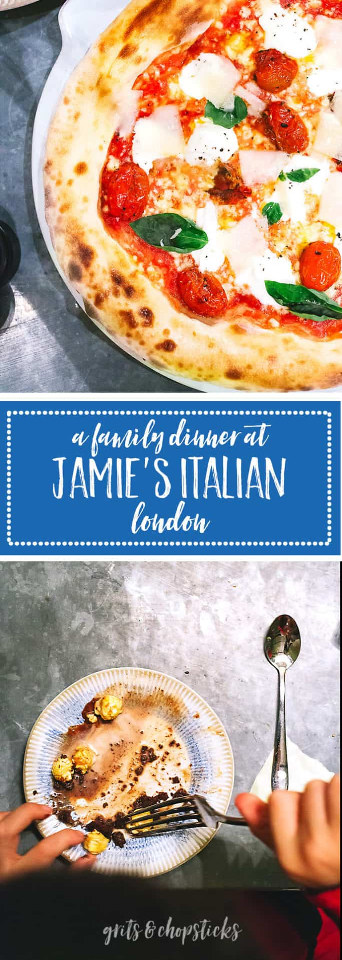 jamie's italian is a great family dinner out - check it out!