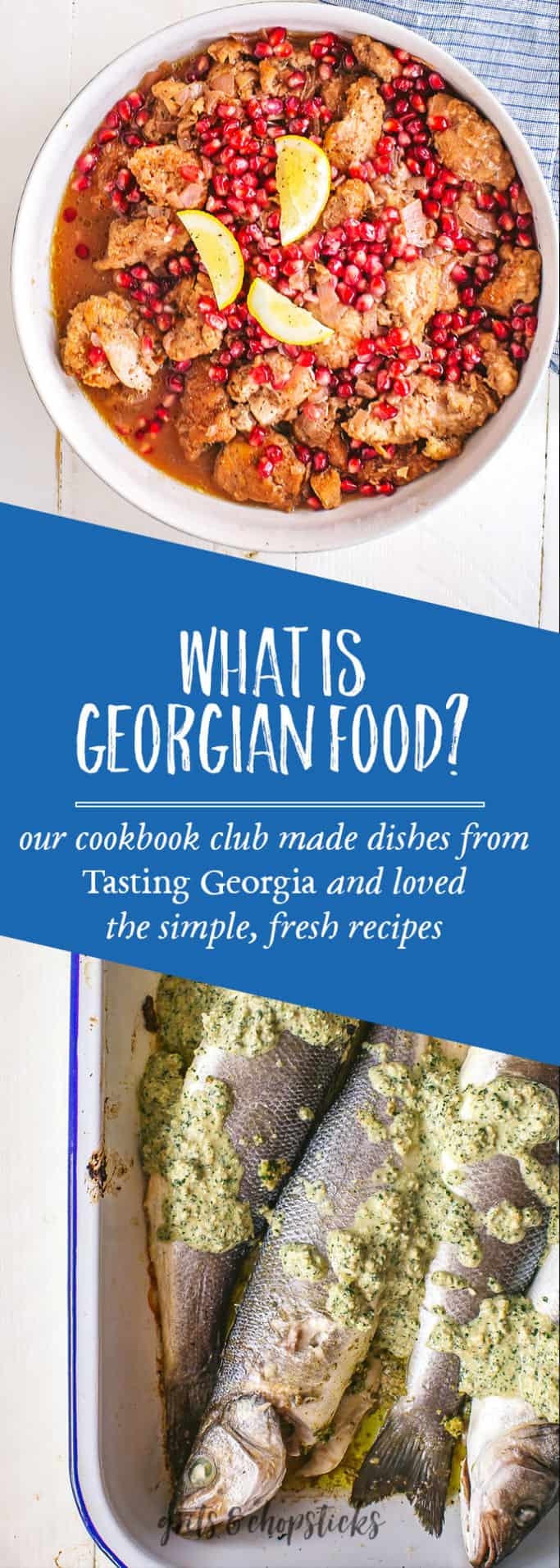 Our cookbook club met to taste recipes from Tasting Georgia, highlighting food from the Caucasus region. Click here to see more!