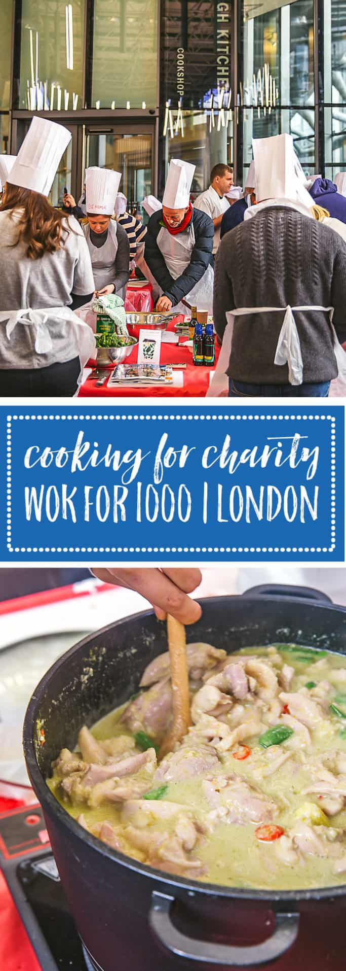 School of Wok, an Asian cooking school in London, brings together volunteers to make 1000 meals for the homeless in one day. Click here to learn more!