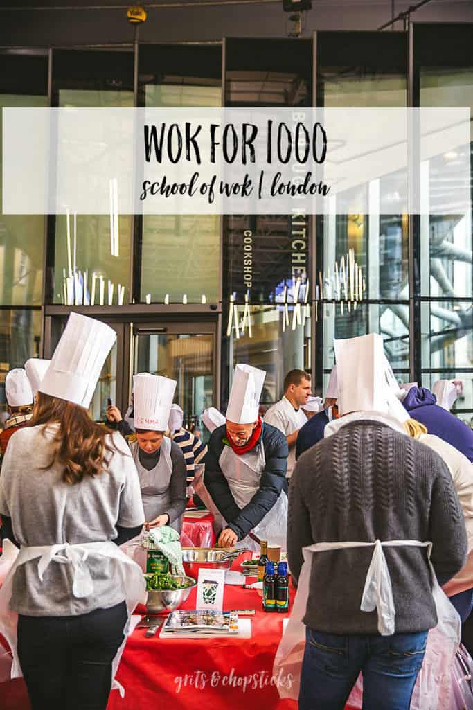 wok for 1000 london is a fantastic way to combine cooking skills for a good cause