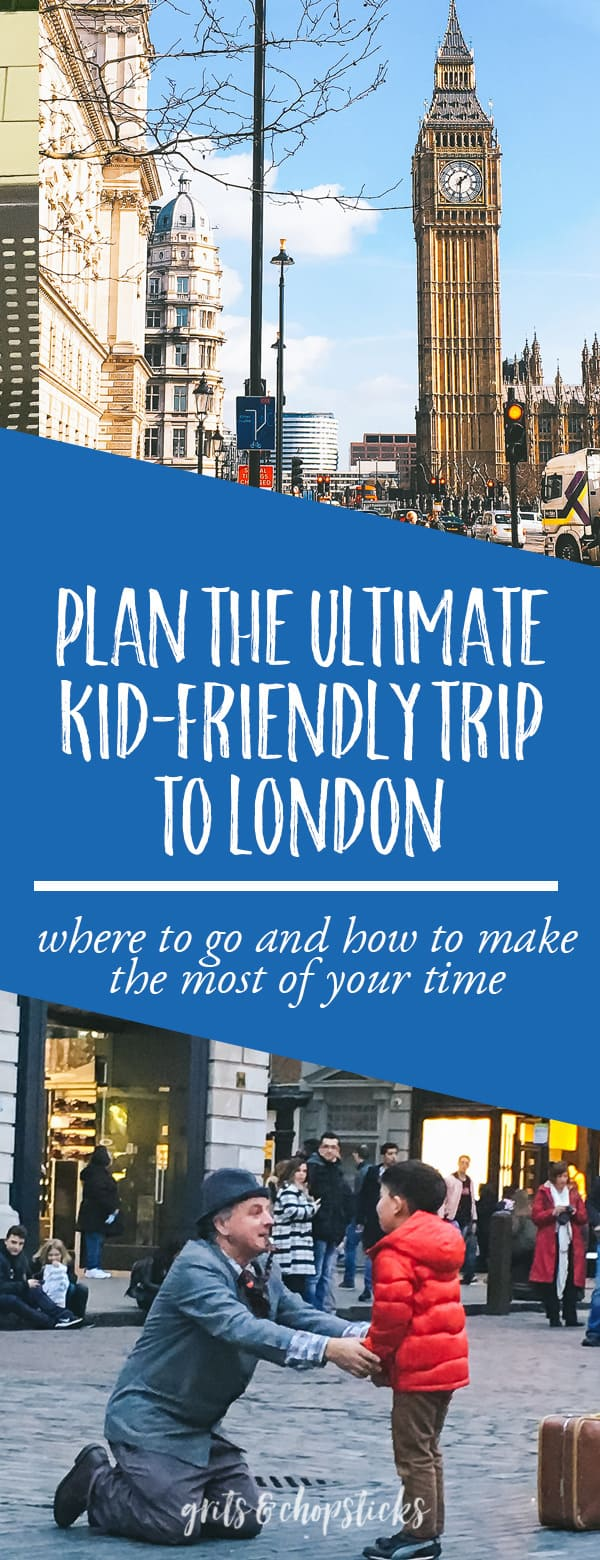 Plan the ultimate kid-friendly trip to London! Here are all of the can't miss sights and places to eat, not to mention a free download! #travel #london