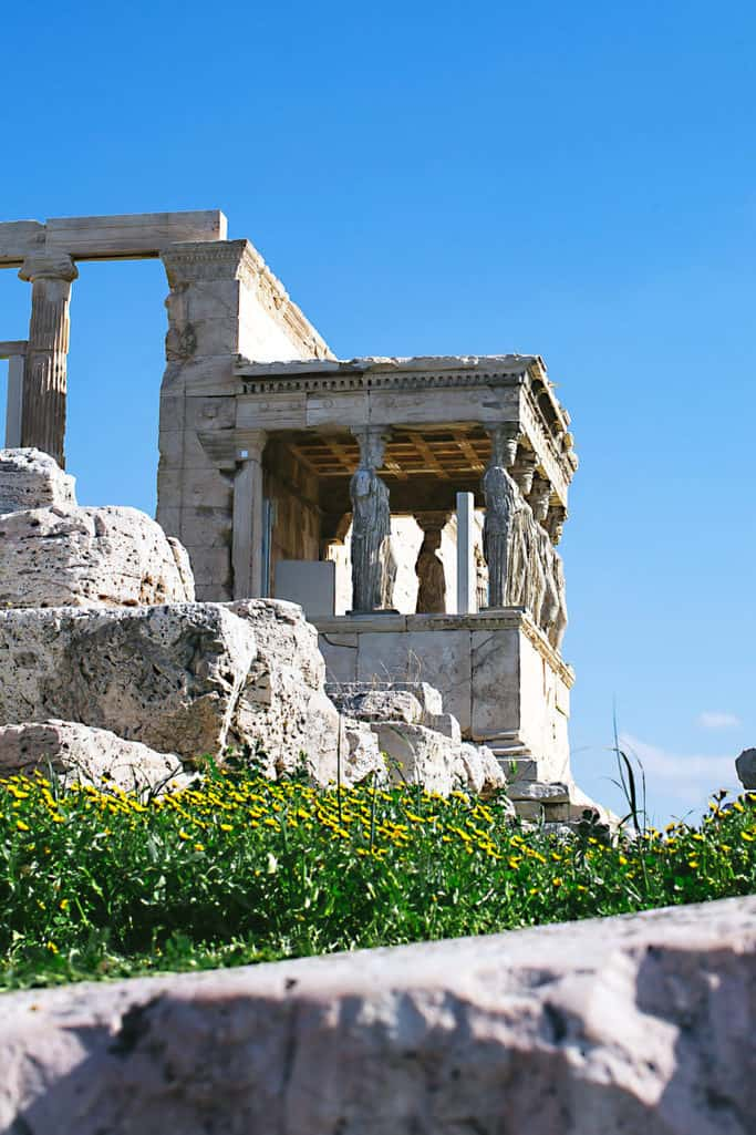 parthenon athens greece foodie trip