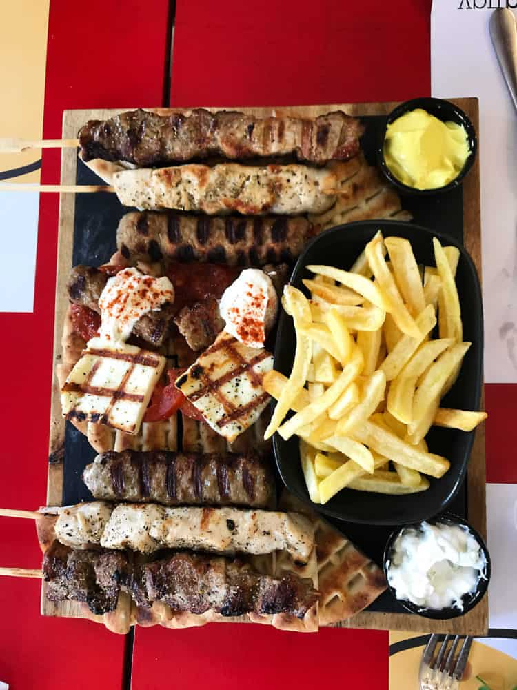 food in athens, greece