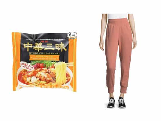 best instant ramen and sweatpants