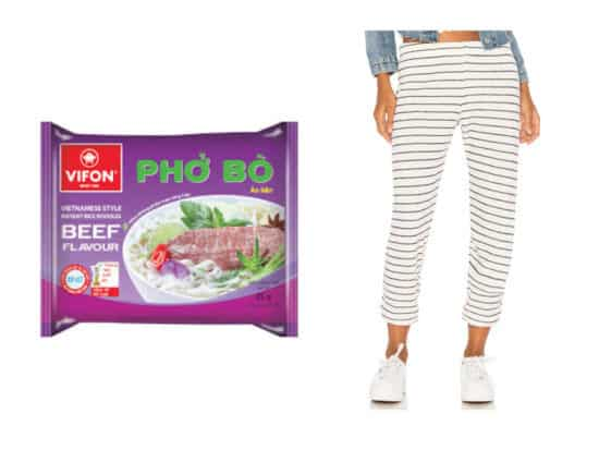 the best sweatpants and instant ramen