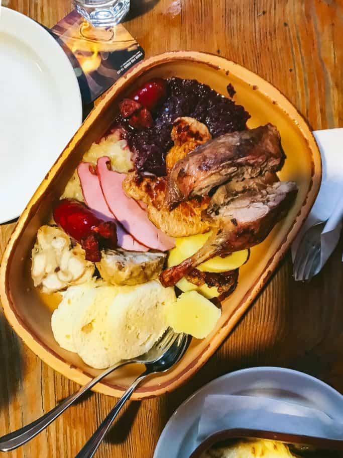 old prague plate prague