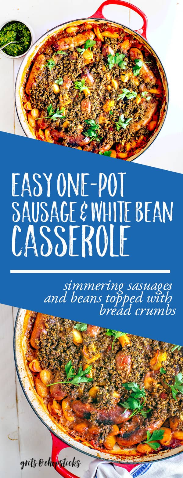 sausage and white bean casserole