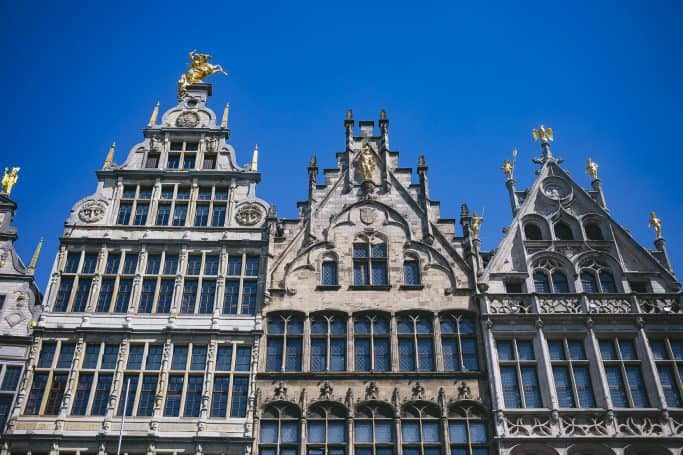 travel with eurail pass antwerp grote markt