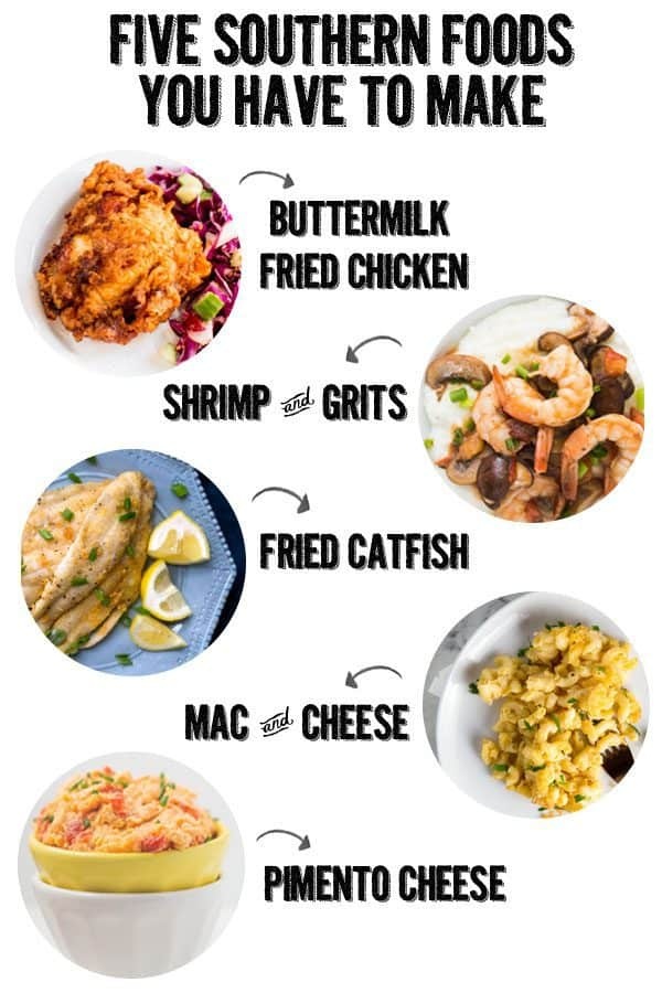 five must try southern food recipes