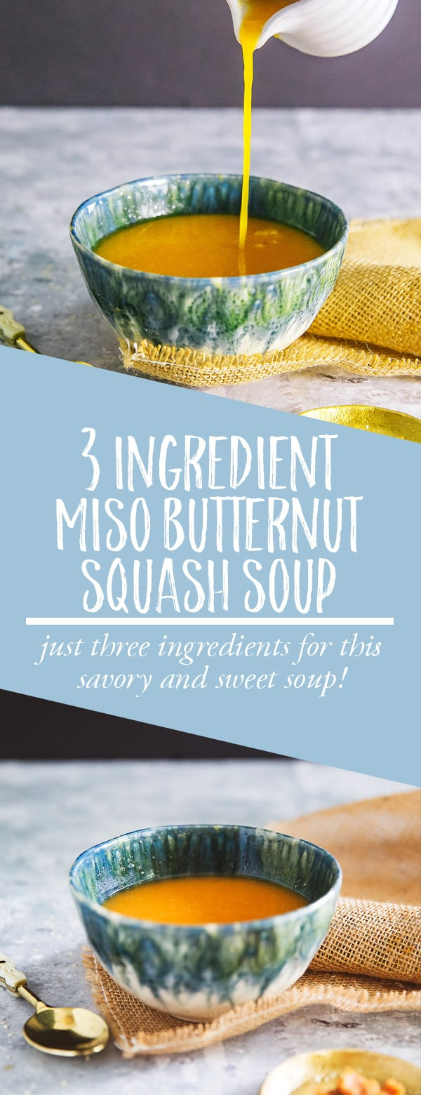 miso butternut squash soup