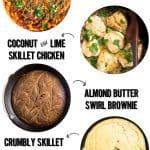 five cast iron skillet recipes