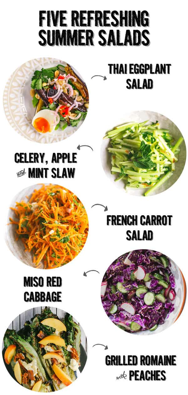 five refreshing summer salads
