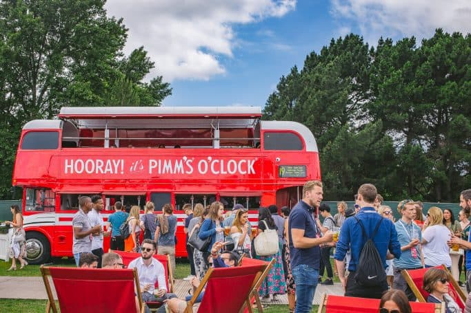 pimm's cup bus